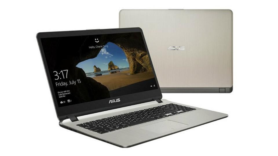 Asus VivoBook X507 laptop features a fingerprint sensor.