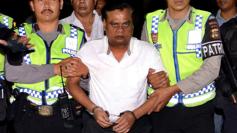 A special CBI court on Wednesday convicted underworld don Chhota Rajan and nine others of killing senior journalist J Dey seven years ago. The court, however, acquitted journalist Jigna Vora and Paulson Joseph, a member of Rajan's gang, in the murder case. Dey, who was Editor (Investigations) of Midday was shot dead on June 11, 2011 on his way home. (Sonny Tumbelaka / AFP File)