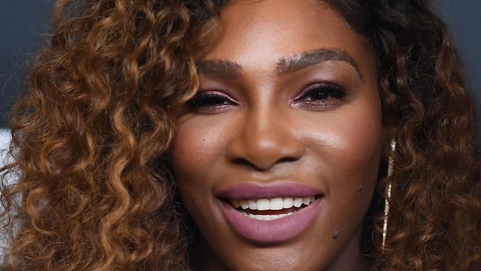 Serena Williams attends the HBO New York Premiere of 'Being Serena' at Time Warner Center in New York City.