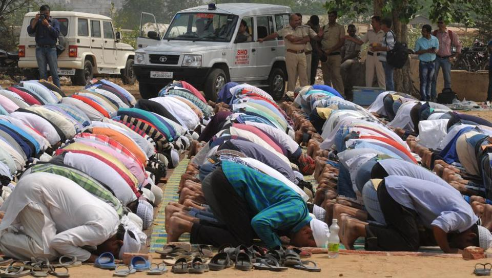 Gurugram,Namaz,Protest in Gurugram
