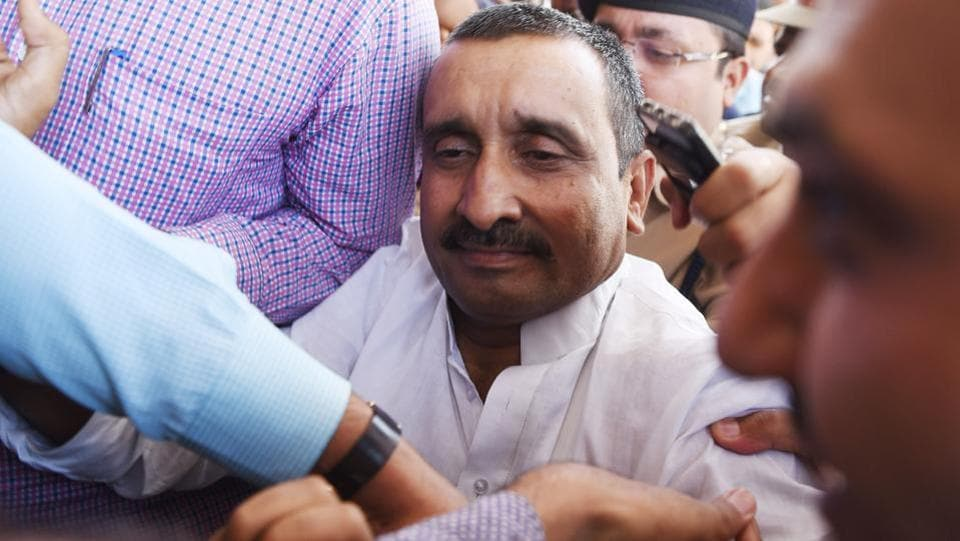 The Allahabad high court on Wednesday pulled up the CBI for its work in the Unnao rape case, faulting the agency for not recording the statement of the victim. The CBI took over the case from the Uttar Pradesh Police on April 12 after allegations that the state's Bharatiya Janata Party government was shielding party lawmaker Kuldeep Singh Sengar, the main accused. (Subhankar Chakraborty / HT File)
