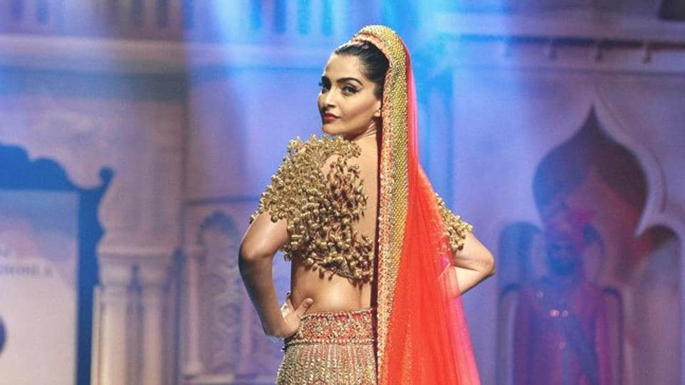 Actor Sonam Kapoor has a timeless but anything-but-boring style. The possibilities with her wedding fashion are endless. (IANS File Photo)