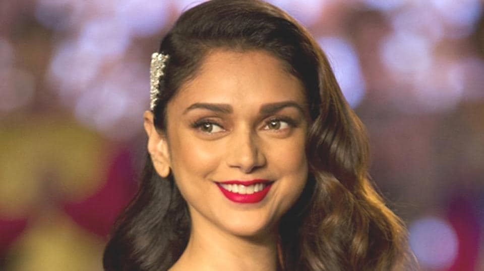Keep scrolling to see some of the jaw-droppingly gorgeous photos from the Padmaavat actor Aditi Rao Hydari's Vogue India spread. (IANSFile Photo)