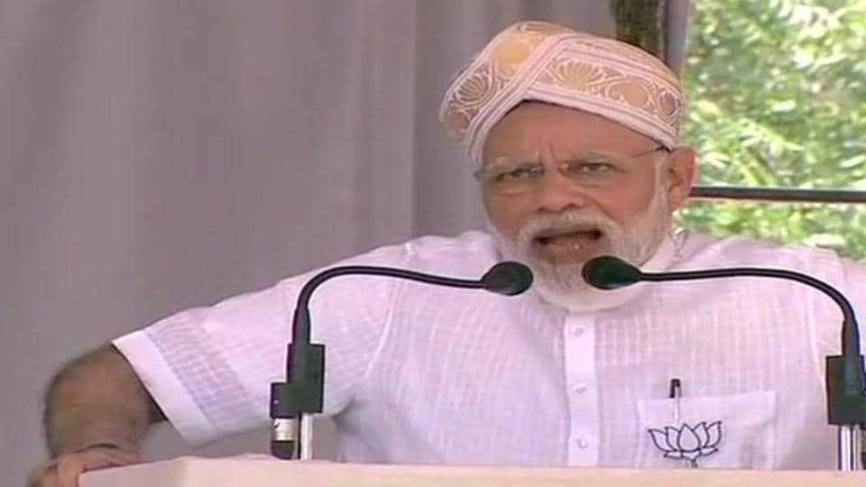 Modi blasts Congress, JD(S), says they have secret pact
