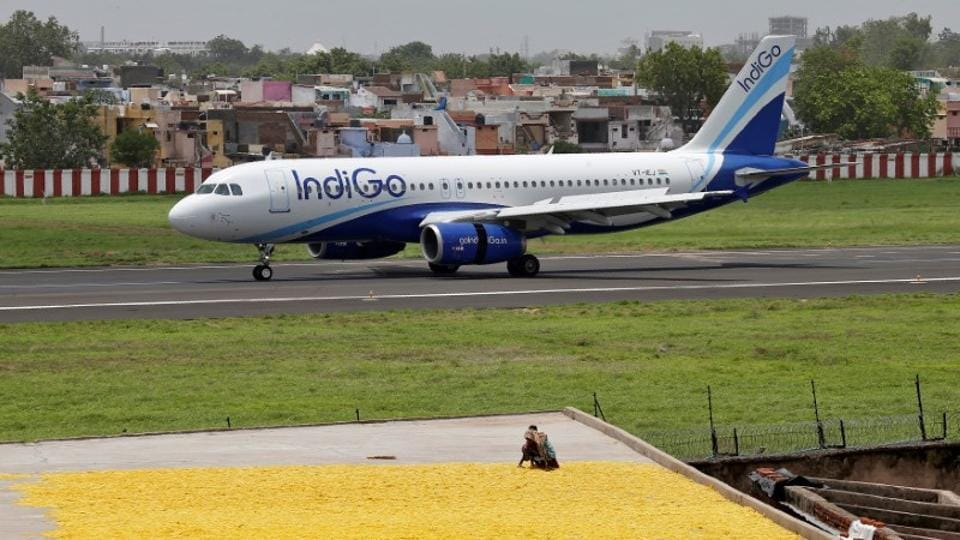 The parent company of India's top carrier IndiGo on Wednesday declared that its Q4 profit slumped 73%  to Rs 118  crore,  hurt by higher expenses and surging fuel costs.