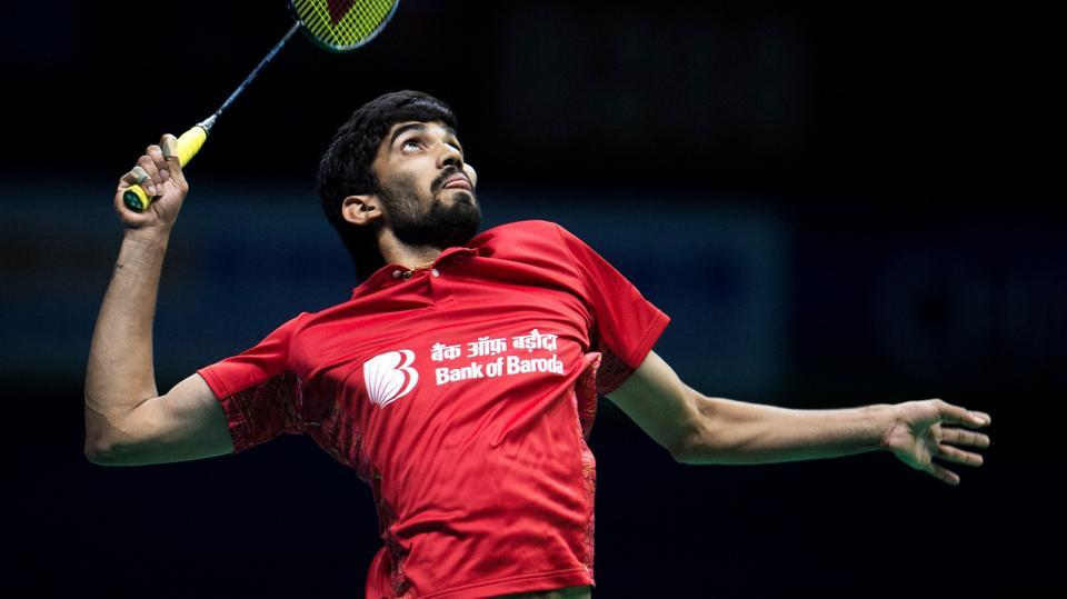 Indian badminton player Kidambi Srikanth is ranked No.3 in the latest rankings.