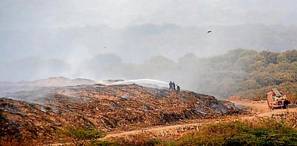 Deonar dump yard has witnessed several fires over the years.