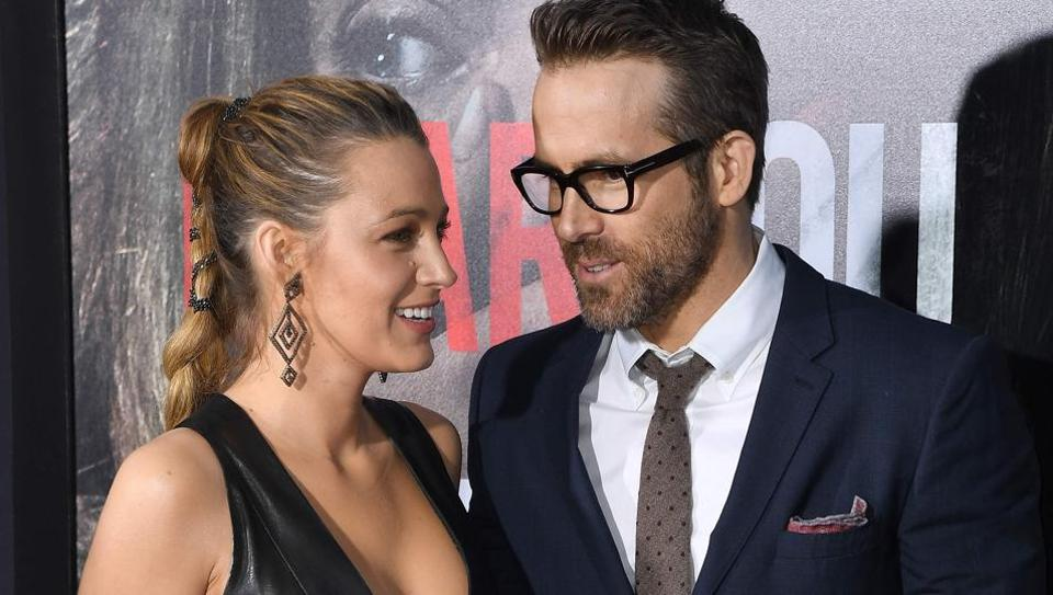 Blake Lively and Ryan Reynolds attend the Paramount Pictures premiere for A Quiet Place at AMC Lincoln Square.