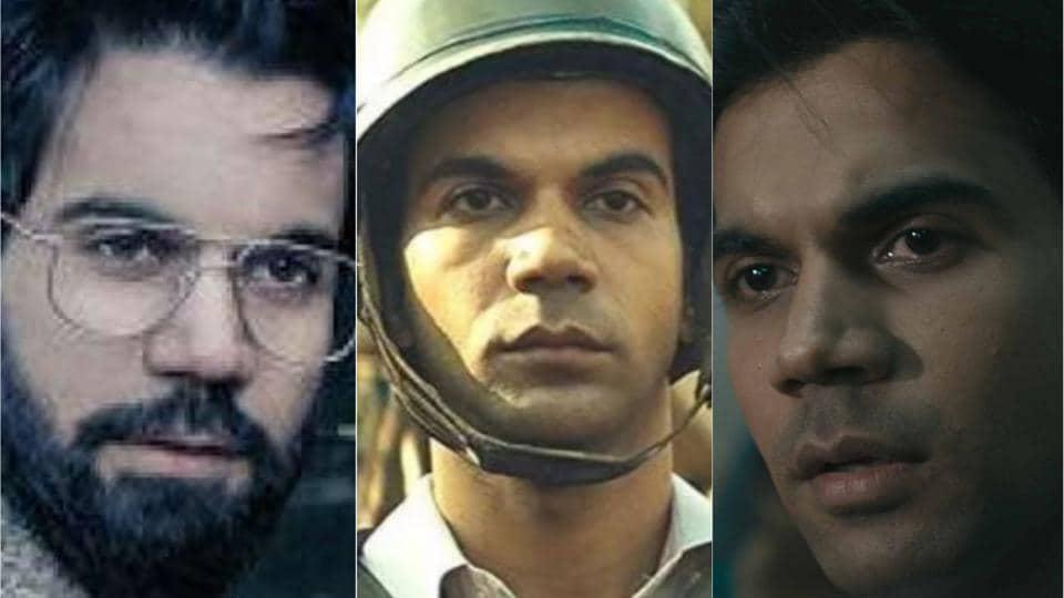 The many faces of Rajkummar Rao.