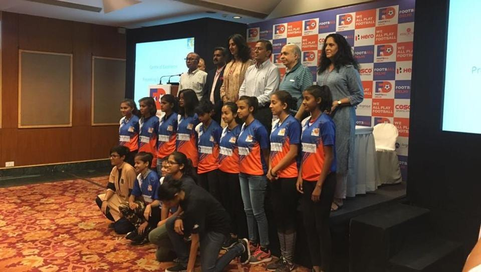 Junior football players from Delhi were selected for the Centre of Excellence project by FootballDelhi on Friday.