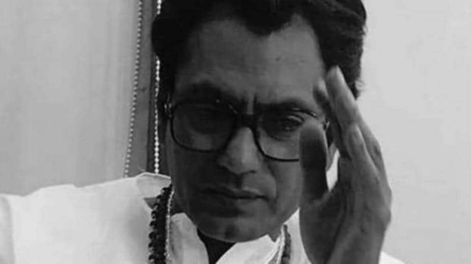 Actor Nawazuddin Siddiqui in the role of Bal Thackeray in the biopic, Thackeray. (IANS)