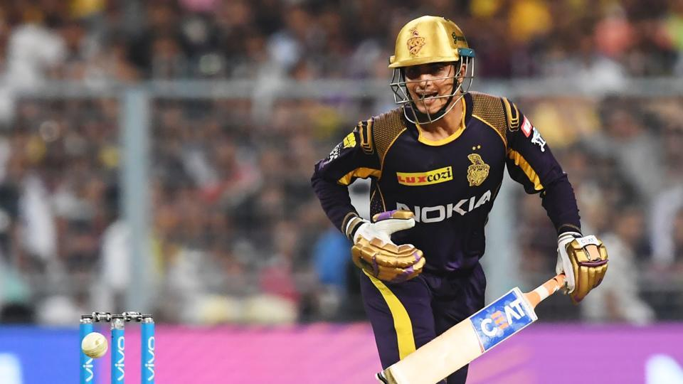 Kolkata Knight Riders (KKR) batsman Shubman Gill scored an unbeaten 57 in the 2018 Indian Premier League (IPL 2018) match against Chennai Super Kings (CSK) at Eden Gardens.
