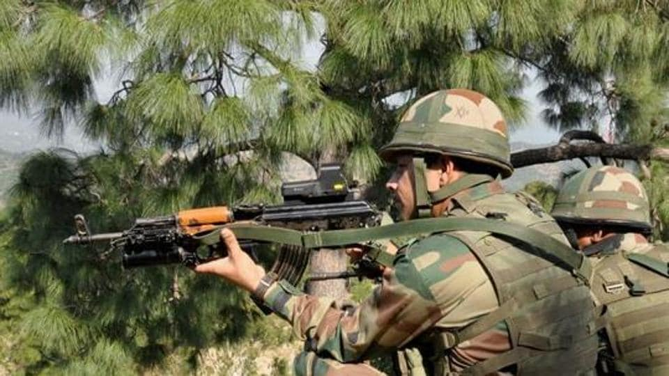 Woman injured in Pak firing along LoC