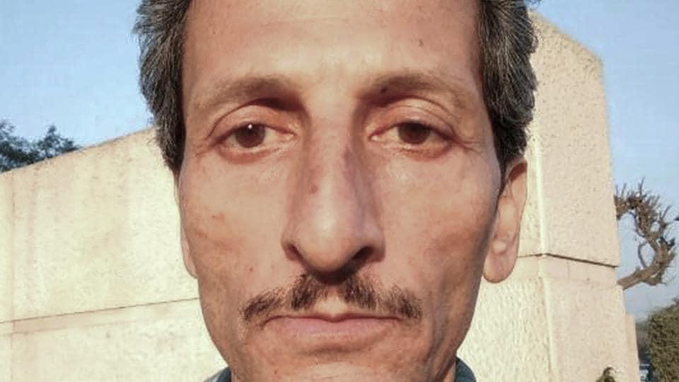 File photo of Vijay Singh who is accused of shooting dead officer Shail Bala Sharma in Kasauli.