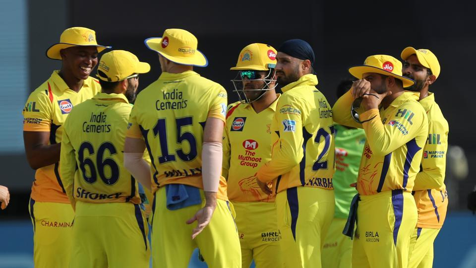 The spinners, in particular, did well as Ravindra Jadeja and Harbhajan Singh helped restrict RCB to 127/9. (BCCI)