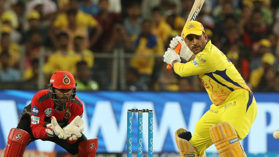 MS Dhoni scored an unbeaten 31 as Chennai Super Kings defeated Royal Challengers Bangalore by six wickets in an IPL 2018 clash in Pune on Saturday.  (BCCI)