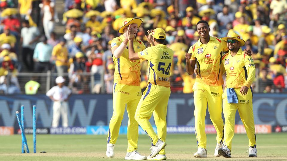 However, wickets kept tumbling as CSK bowlers had a field day. (BCCI)
