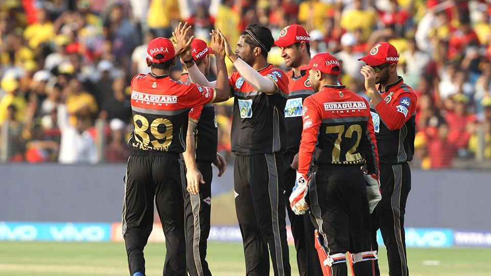 Umesh Yadav bowled well, but RCB had a tall ask and Virat Kohli's side was unable to prevent MS Dhoni's CSK from winning by six wickets. (BCCI)