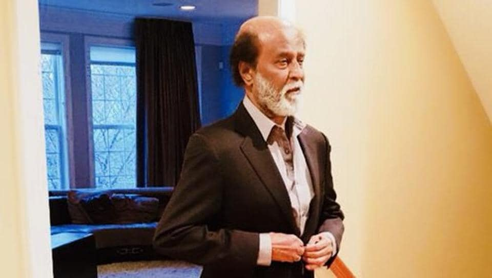 Rajinikanth is back in Chennai after visiting the US for a medical check-up.