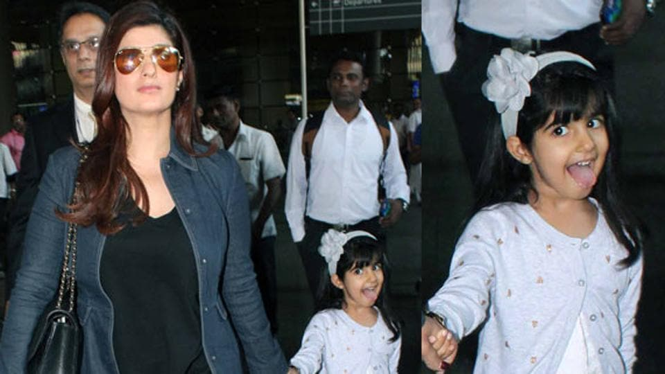 Twinkle Khanna often posts about her 5-year-old daughter Nitara.
