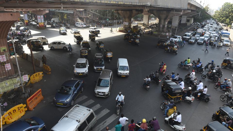 One of the black spots under Vakola flyover at Santacruz in Mumbai.