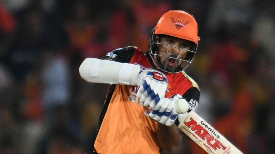 Shikhar Dhawan has had a quiet IPL 2018 so far, scoring 185 runs so far Sunrisers Hyderabad in eight innings.