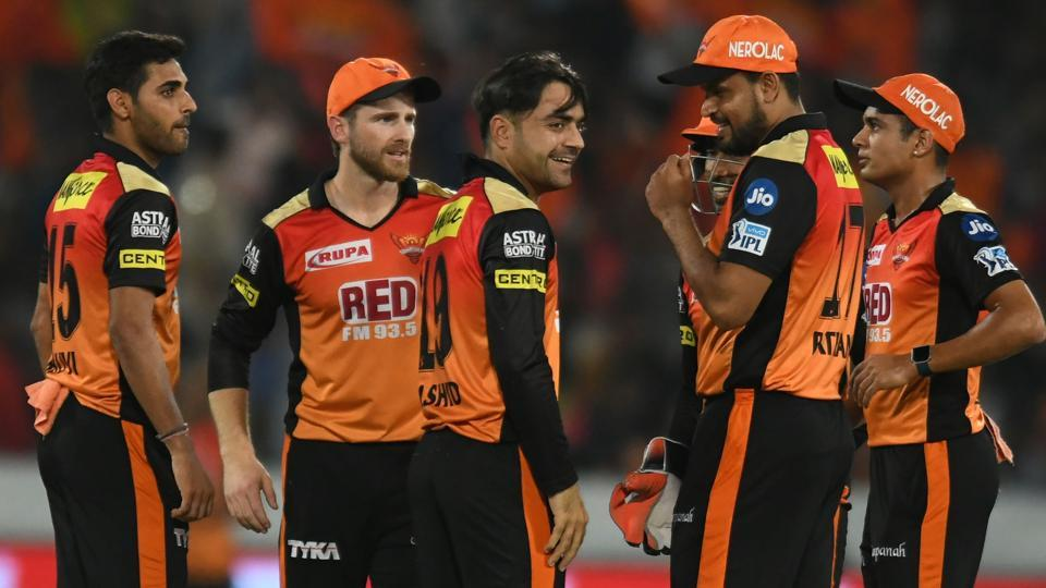 Sunrisers Hyderabad look to secure their play-off berth when they face Royal Challengers Bangalore in the Indian Premier League (IPL) 2018 on Monday.