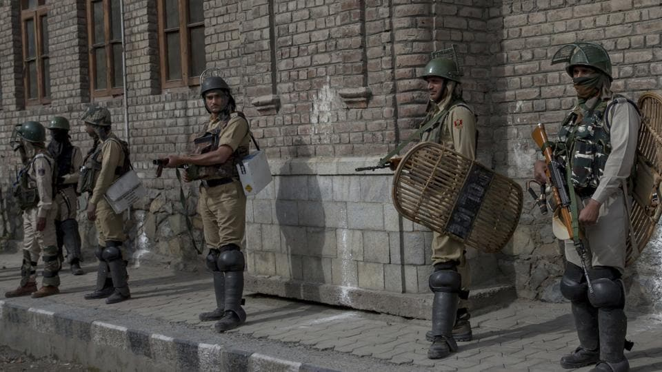 Five militants were killed in an encounter in Kashmir's Shopian on Sunday.