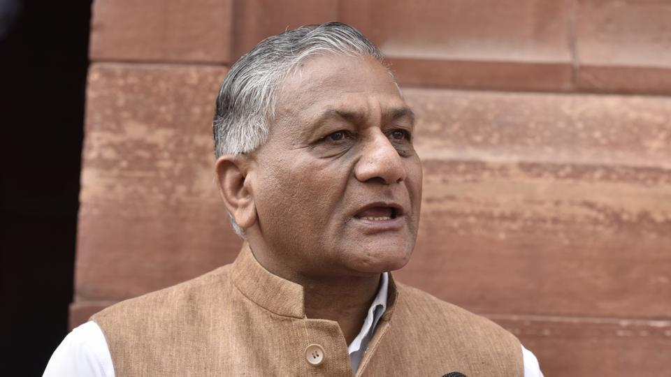 VK Singh suggested that protesting AMU students have to choose between wisdom and prudence, or narrow-mindedness and extremism.