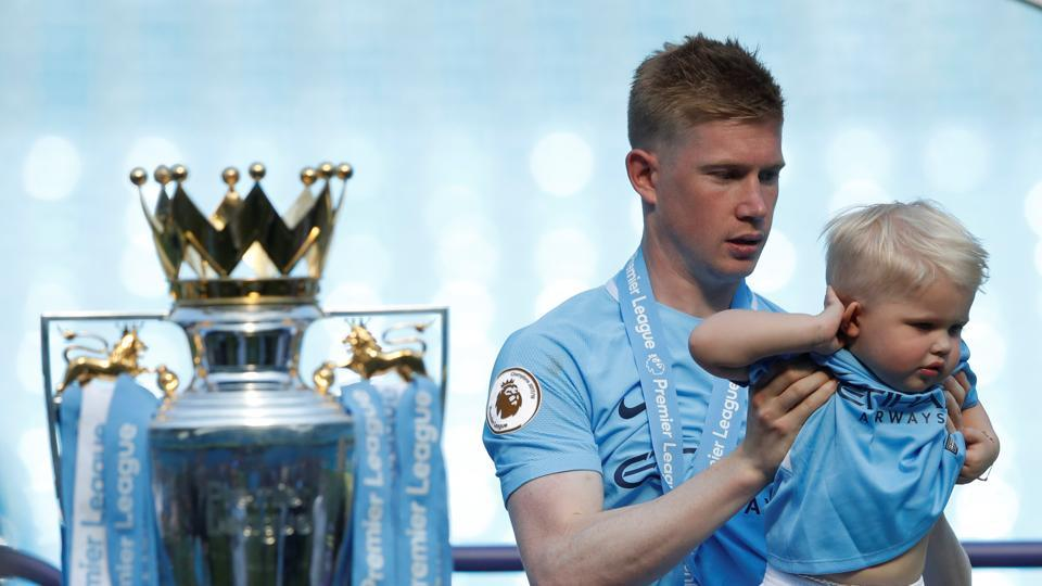 Midfielder Kevin de Bruyne's prolific form was one of the major reason's behind City's dominant showing in the league this season. (REUTERS)