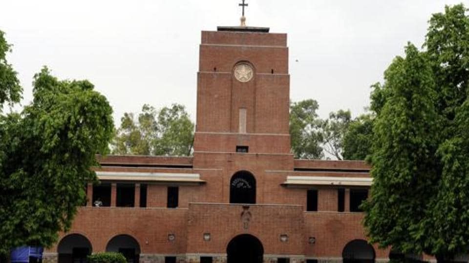 Delhi police dismissed the controversial scribbles in St Stephen's College as rumours.