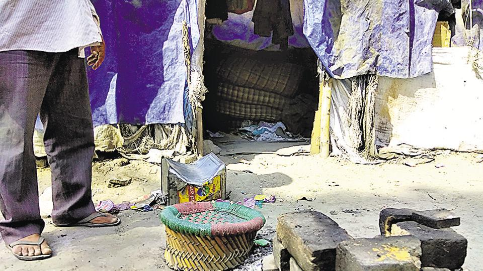 A20-year-old visually impaired woman was allegedly gang-raped by two or three men in a shanty next to her home near Karol Bagh on Friday morning.