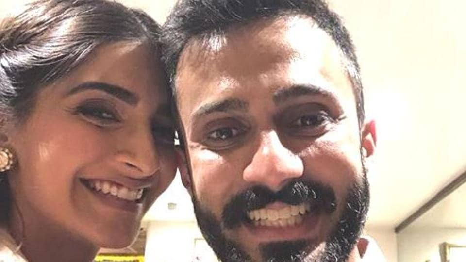 Watch Sonam Kapoor cutely mock husband-to-be Anand Ahuja's American accent | bollywood