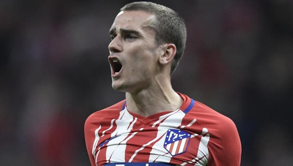 Atletico Madrid's French forward Antoine Griezmann has been linked to La Liga rivals Barcelona.
