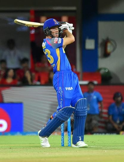 Earlier Rajasthan Royals' Jos Buttler  got off to a flying start, smashing a half-century. (PTI)