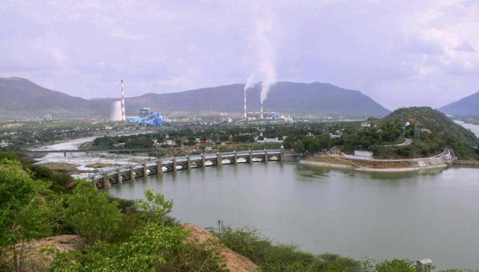 Cauvery river flowing through Mettur Dam in Tamil Nadu. The Supreme Court has increased Karnataka's share of water and directed the state to release 177.25 tmc to Tamil Nadu on February 16, 2018.
