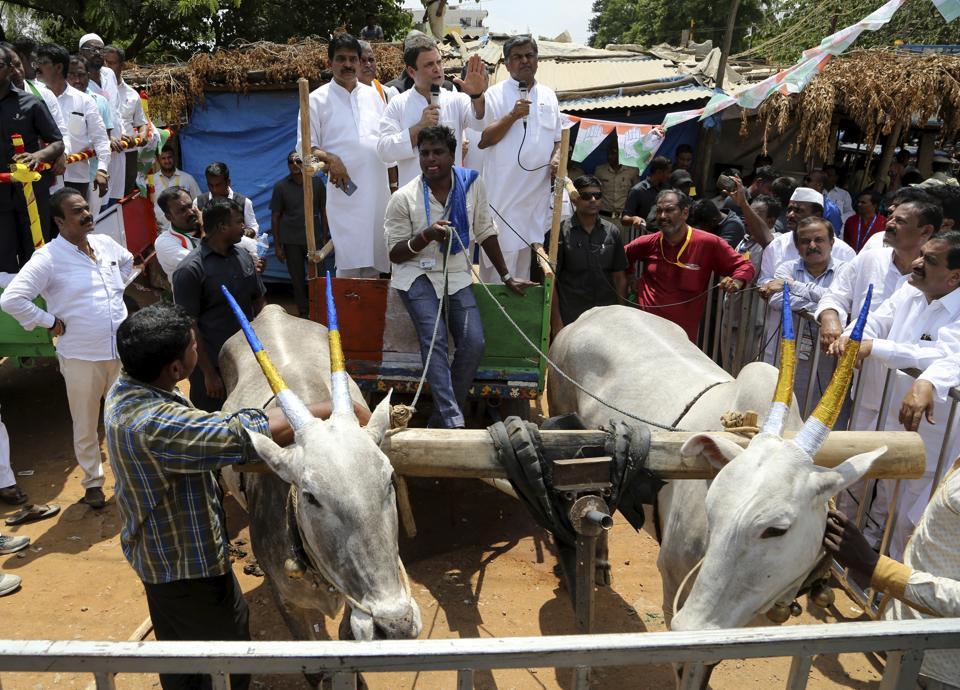 Congress MLC Deepak Singh,Vidhan Parishad,Bullock cart