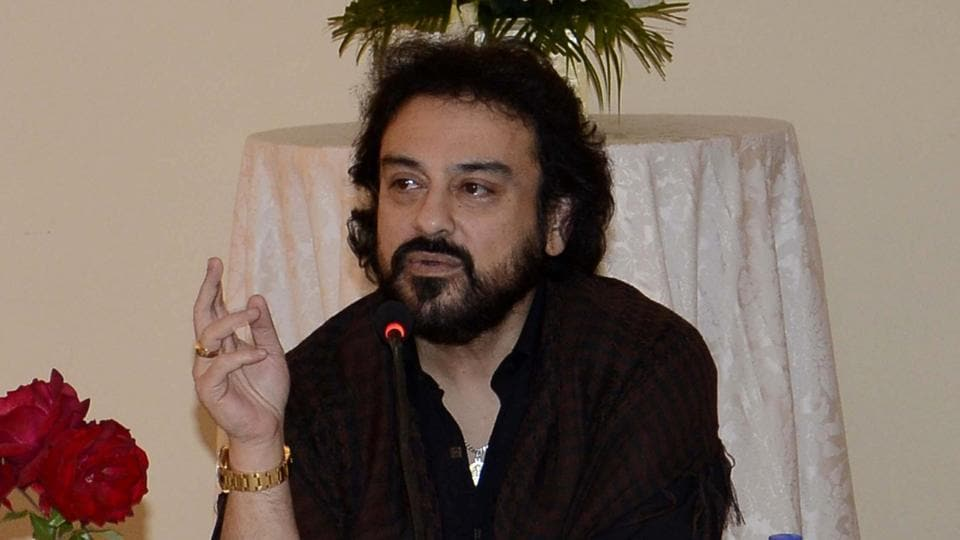 Singer Adnan Sami was in Kuwait for a live performance.