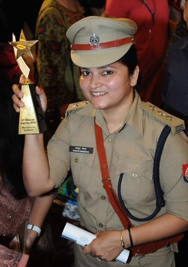 DSP Shreshtha Thakur.
