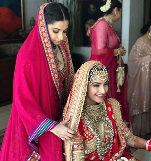 Image result for sonam kapoor wedding pics