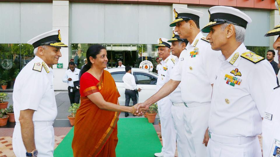 Funds to address critical shortfalls in Navy will be provided: Nirmala Sitharaman