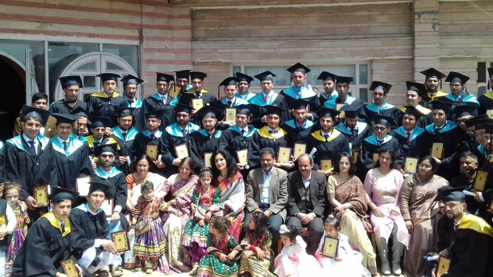 Himachal Pradesh University organised a function in Hotel Peterhoff in Shimla to honour the foreign students.