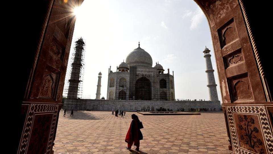 The Supreme Court on Wednesday came down heavily on the Archeological Survey of India (ASI) for its failure to take appropriate steps to protect and preserve of the iconic Taj Mahal. The apex court also expressed concern over Taj Mahal being infected by insects and asked the authorities, including the ASI, what steps they have taken to prevent this. (Virendra Singh Gosain / HT File)