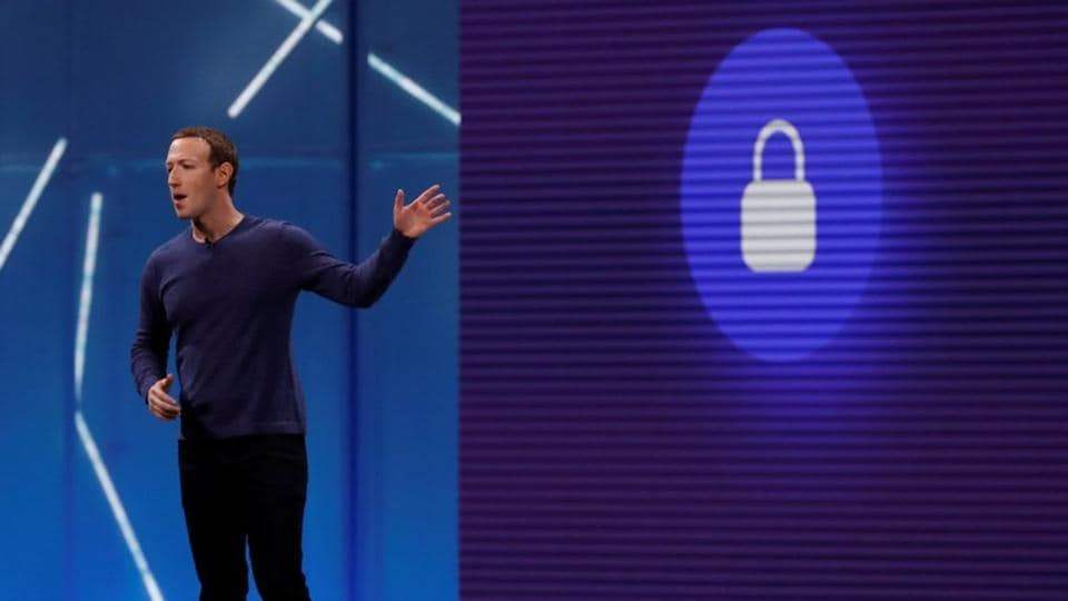 Facebook CEO Mark Zuckerberg speaks at Facebook Inc's annual F8 developers conference in San Jose, California, US on May 1, 2018.