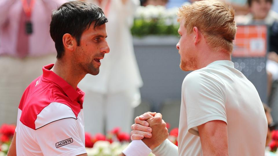 Edmund powers past Djokovic as Serbian's wretched slump continues