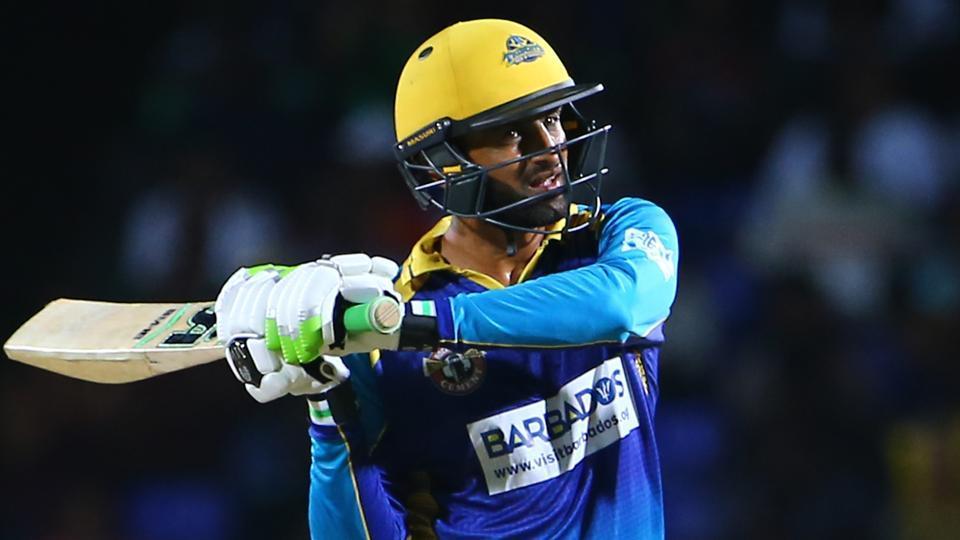 Shoaib Malik scores an impressive 50 off 33 balls in CPL