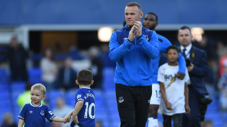 Wayne Rooney has netted 10 times for Everton this season.