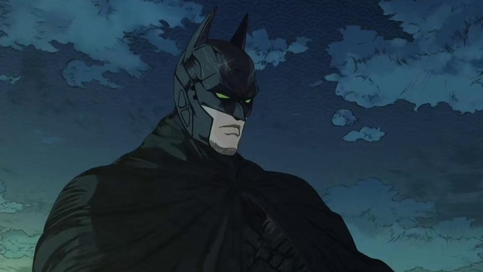 Any frame of Batman Ninja could be framed on your wall.