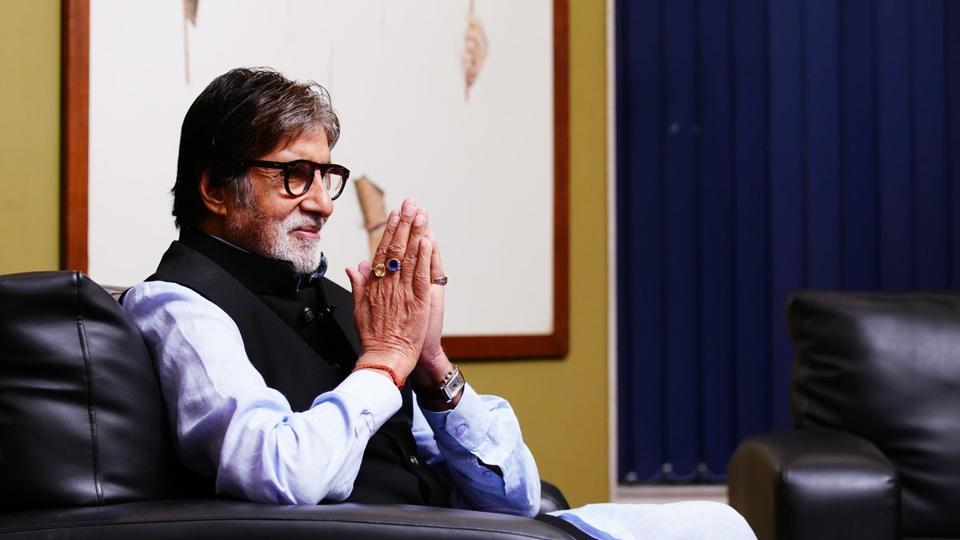 Prosthetics enhance our performances: Amitabh Bachchan