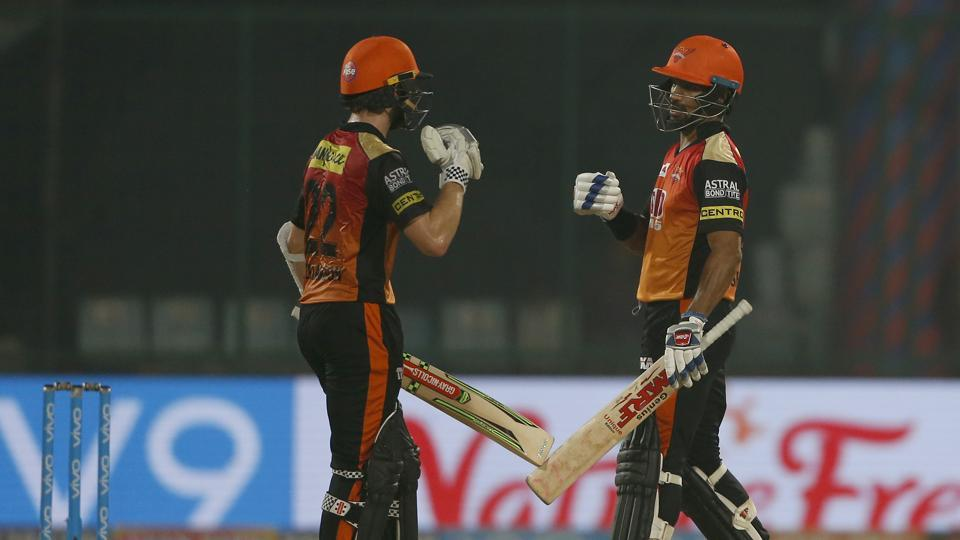 Get highlights of Delhi Daredevils vs Sunrisers Hyderabad, IPL 2018 here. SRH thrashed DD to assure themselves of an Indian Premier League play-off spot at the Ferozeshah Kotla in Delhi on Thursday.